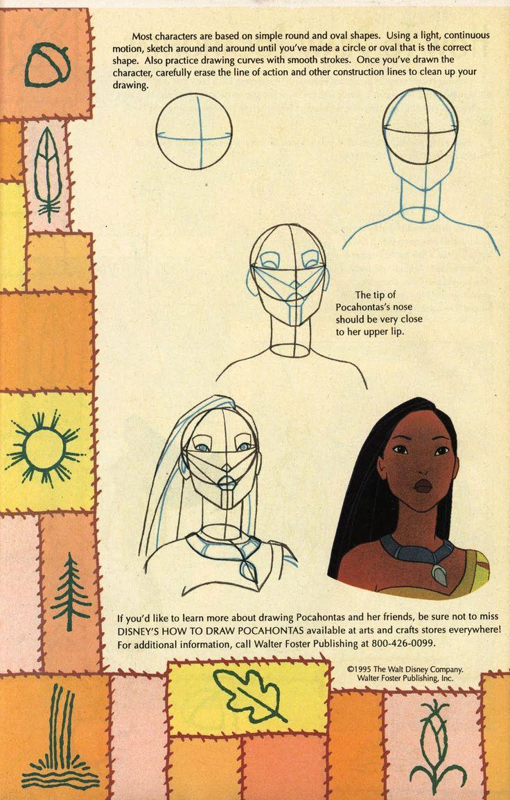 How To Draw Pocahontas