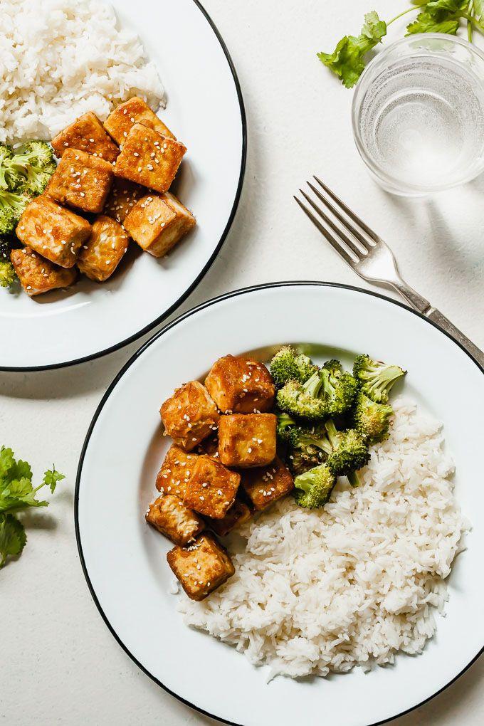 The Best Crispy Tofu An Easy Tofu Recipe That Is Vegan And Gluten Free Vegan Tofu Glutenfree Dinnerideas Veg Tofu Recipes Easy Crispy Tofu Tofu Recipes