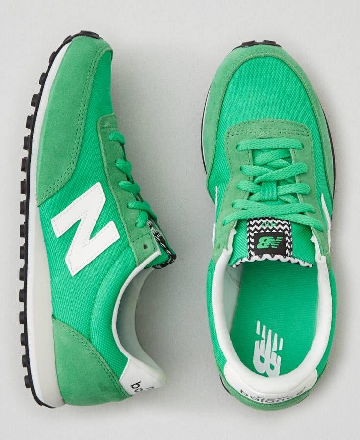AEO New Balance 410 Sneakers, Women's, Green