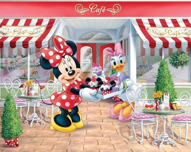 Tapeta na ścianę - Minnie Mouse - TAPETY DLA DZIECI - Sklep DecoArt24.pl