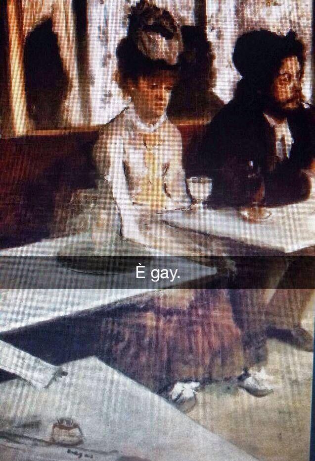 Se i quadri potessero parlare