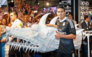 Tercera Camiseta Real Madrid negro 2014 2015 baratas