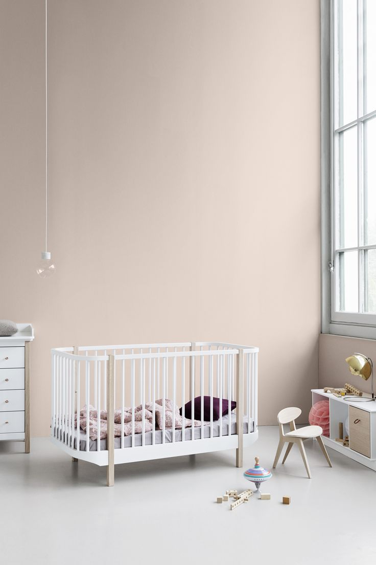 Wood Collection cot bed by Oliver Furniture.