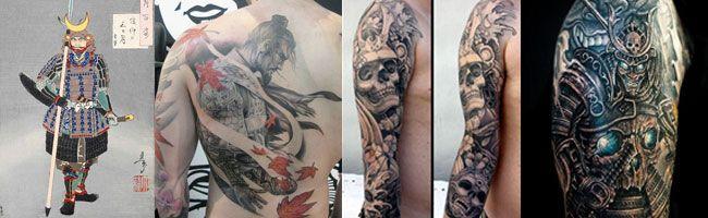 tatuajes de samurais
