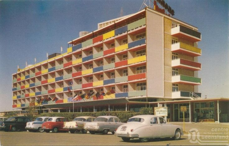 "<span class=""caption-caption"">Lennon's Broadbeach Hotel</span>, c1958. <br />Postcard by <span class=""caption-publisher"">Murray Views Pty Ltd</span>, collection of <span class=""caption-contributor"">John Young</span>."