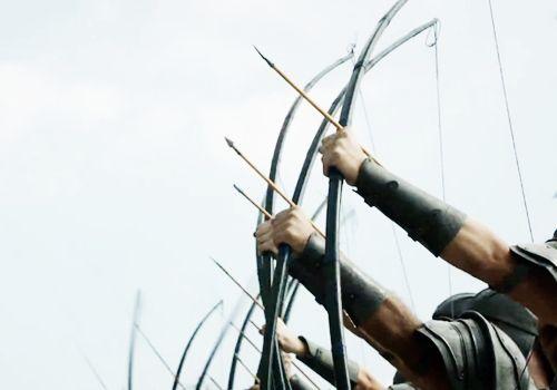 El arco y la flecha es un sistema de armas de proyectil (un arco con flechas) que es anterior a la historia escrita y es común a la mayoría de las culturas. El tiro con arco es el arte, la práctica, o la habilidad de aplicarlo.