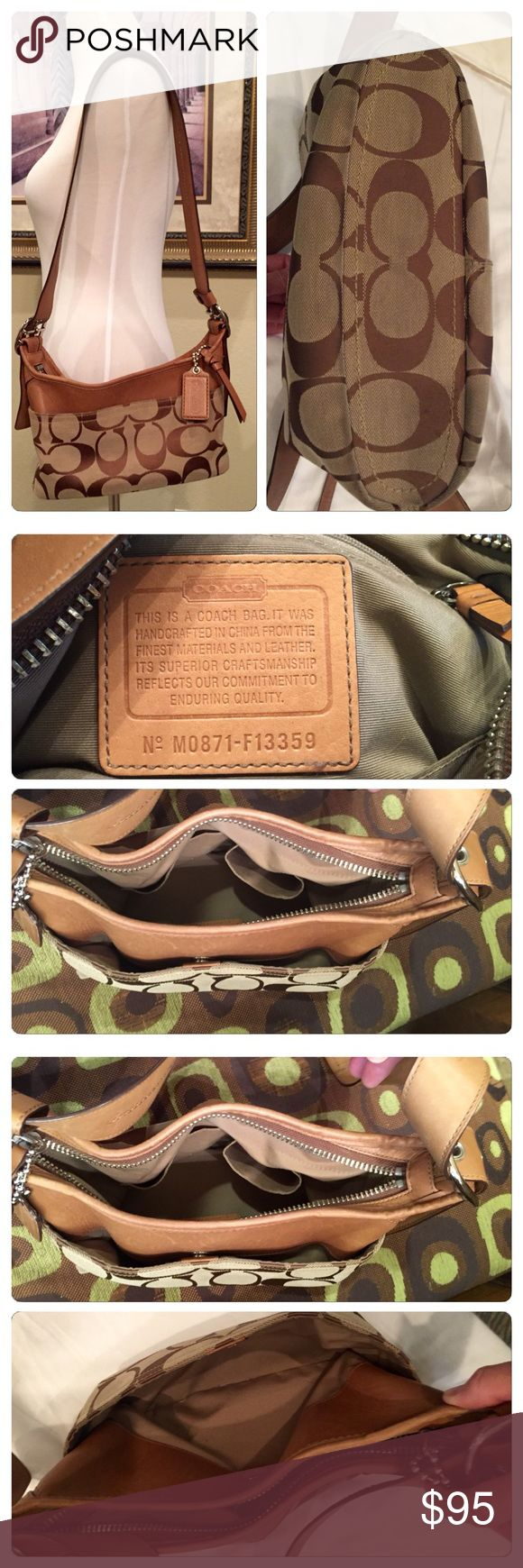 Coach Shoulder Bag Purchased at Destin Outlet. Approximately 10x8. Great condition Coach Bags Shoulder Bags