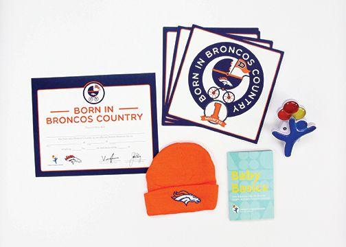 Broncos NFL Baby Membership http://www.denverbroncos.com/fans/newborn/