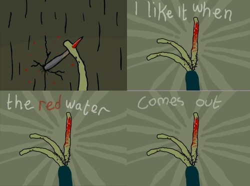 Salad Fingers would love to have a period then lol
