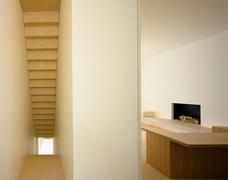Interior View Of The Pawson House In London By John Pawson