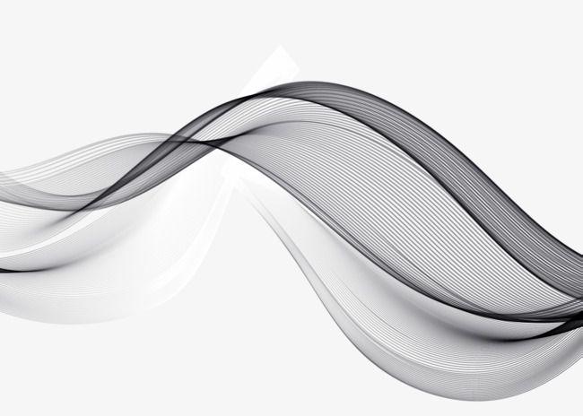 Gray Decorative Curve Elegant Curve Decorative Curve Line Png Transparent Clipart Image And Psd File For Free Download Clip Art Image Grey