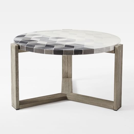 tait showroom shop news outdoor furniture lead. delighful lead mosaic tiled coffee table  isometric concrete intended tait showroom shop news outdoor furniture lead
