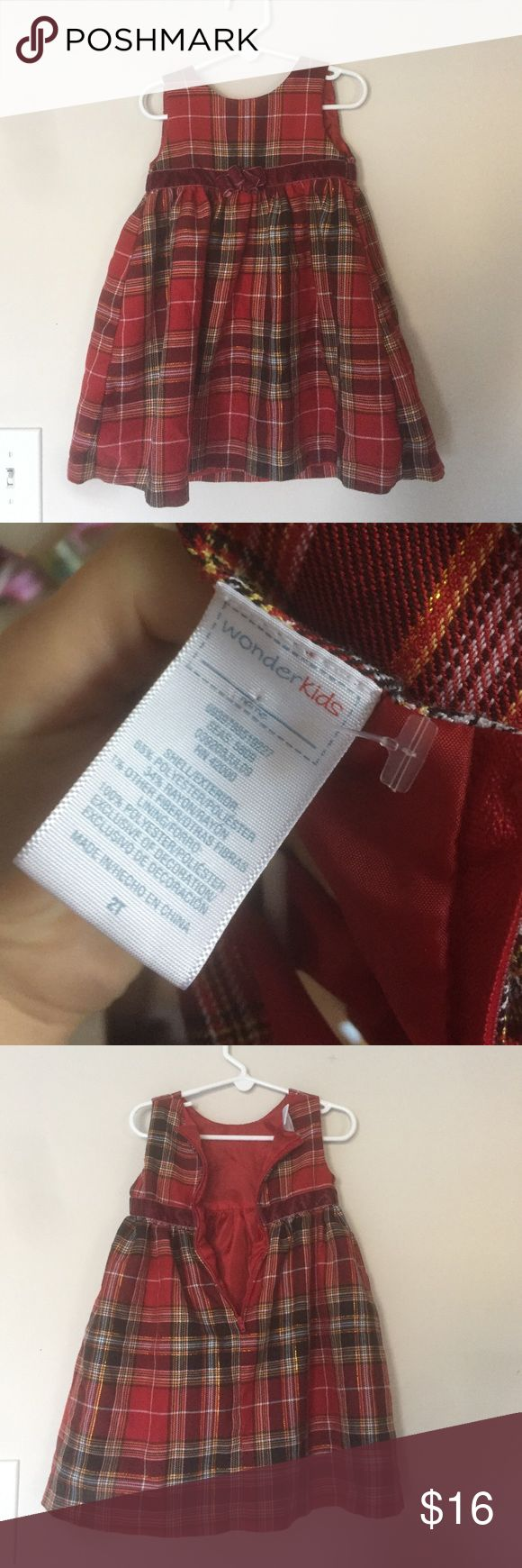 NWOT toddler holiday dress Excellent condition. NWOT. Dresses