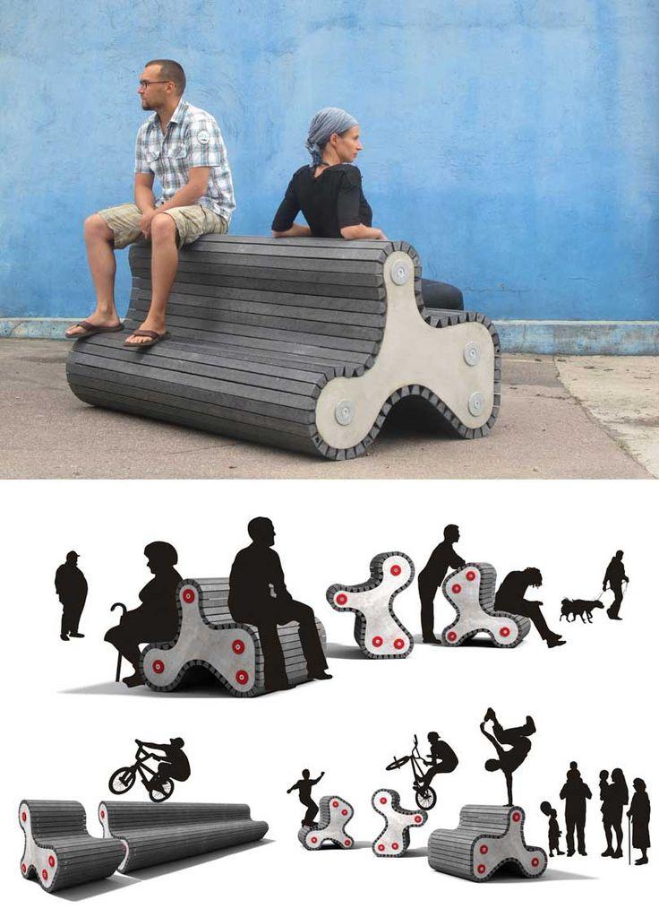 ejemplo mobiliario urbano                                                       …