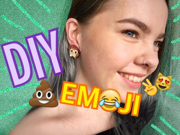 EMOJI SMYCKEN - DIY Lär dig göra egna emoji-smycken som går att göra till ringar, halsband, örhängen och till och med nyckelringar!