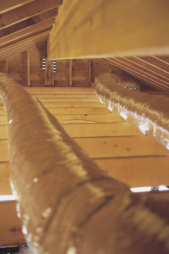 How To Remove Mold From Ac Ducts Attic Renovation Attic Remodel Attic Design