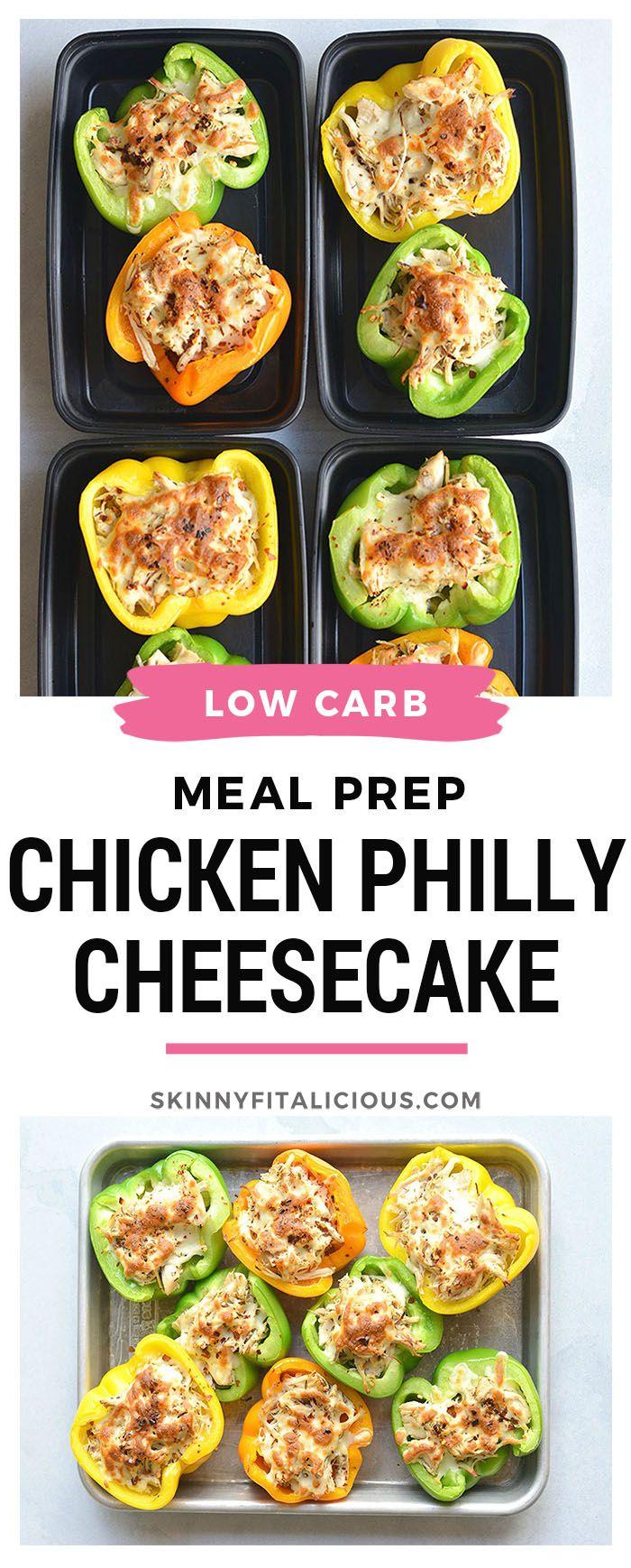 Essenszubereitung Hähnchen Philly Cheesesteak! Dieses kohlenhydratarme Rezept macht saftig und …