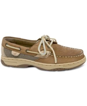 Sperry Kids Shoes, Boys Bluefish Topsiders - Tan/Beige 13.5W
