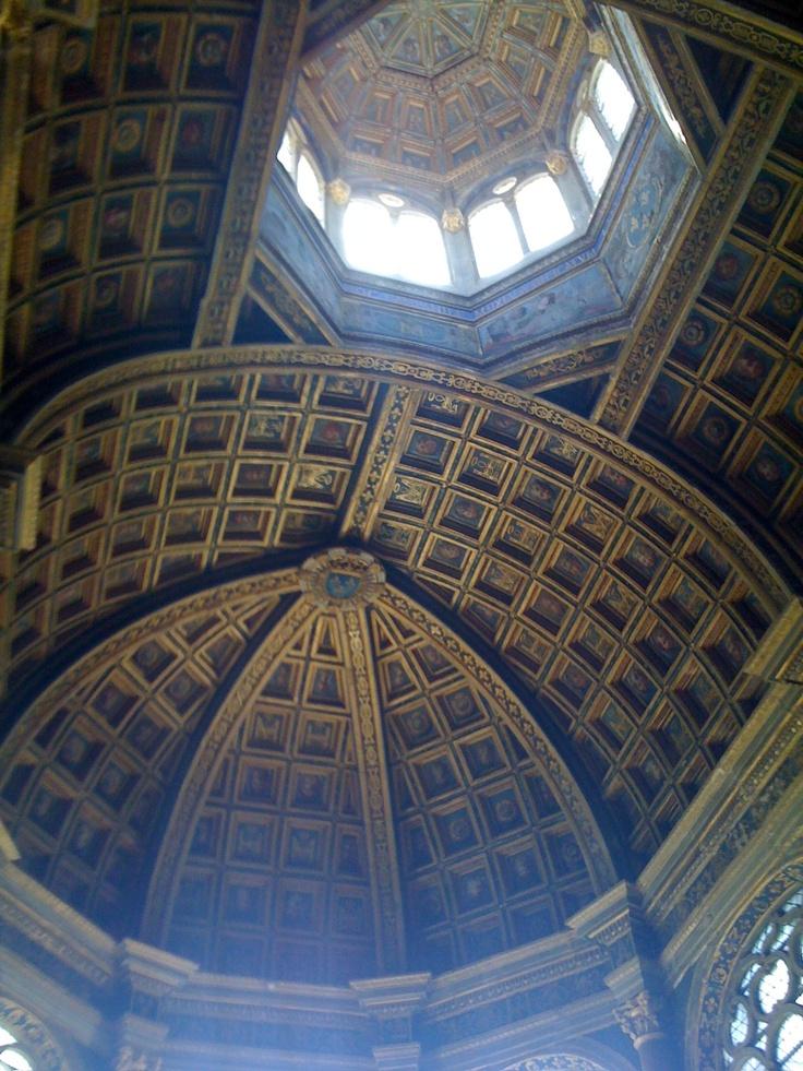 Look up again. Fontainbleau