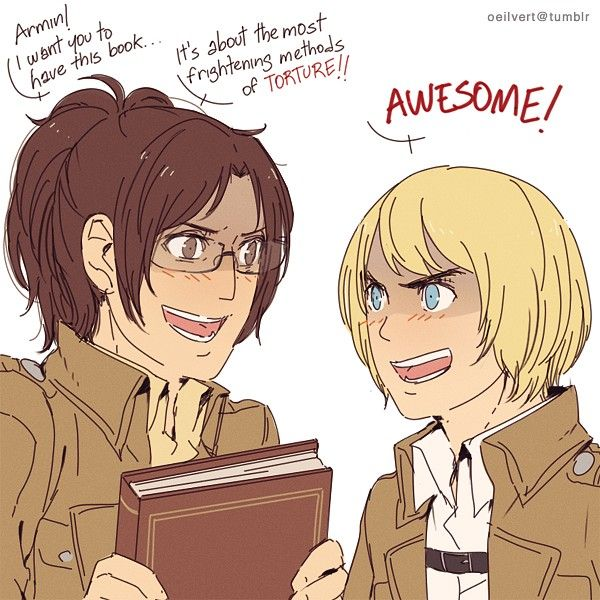 Attack On Titan ~~ What A Dangerous Combination! :: Hanji