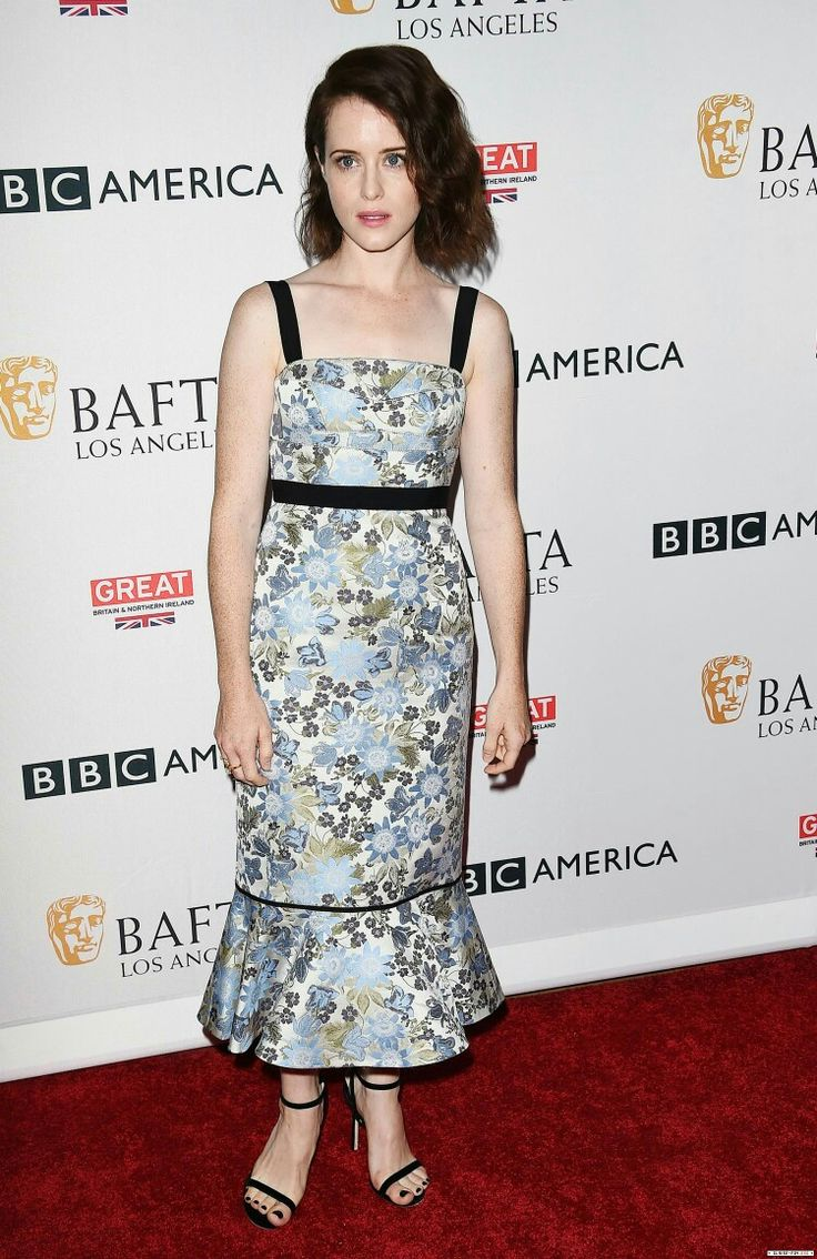 Claire Foy attends the BBC America BAFTA Los Angeles TV Tea Party   16 September 2017