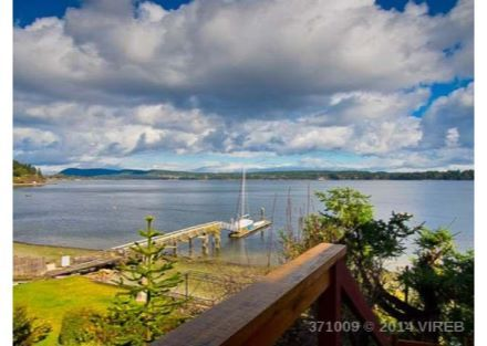 379 Chemainus Road - 379 Chemainus Road , Ladysmith, BC  there are no words.  Waterfront beautiful house that feels like the ocean is in and surrounding every room.  Could be perfect for Dianne at 799