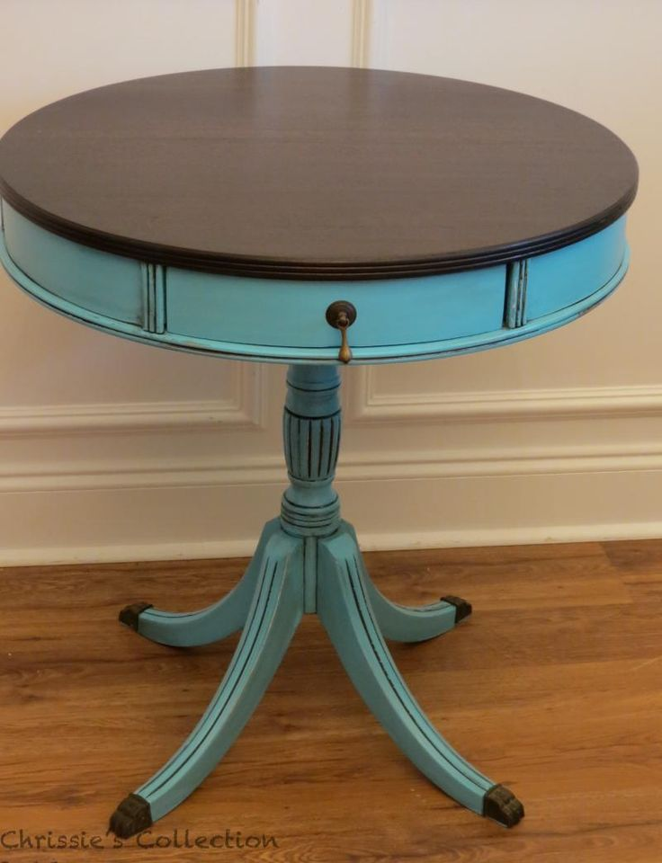 painted furniture I want to do this to my dinning room table.