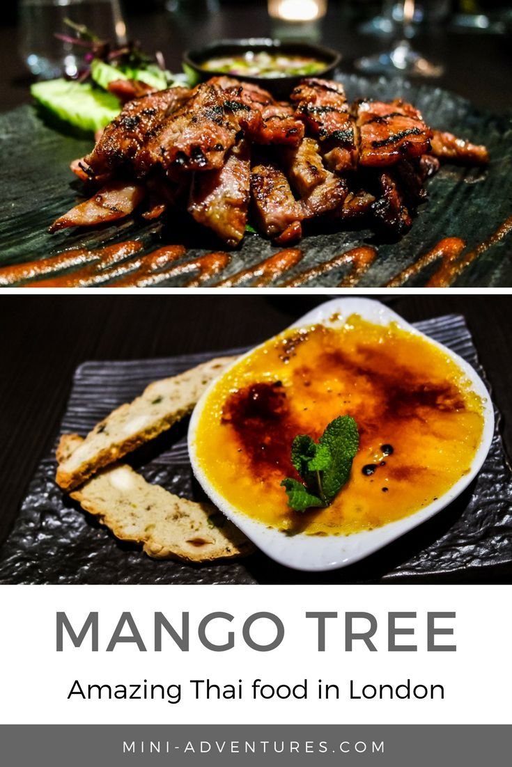 When a restaurant's mentioned in a book by Queen Rowling herself, you know it's gotta be good.  So we checked out Mango Tree in Belgravia, for delicious Thai food in West London