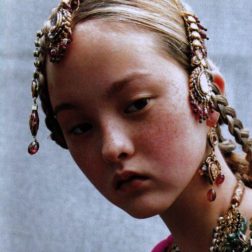 versacegods: Devon Aoki for Vogue Paris September 1999