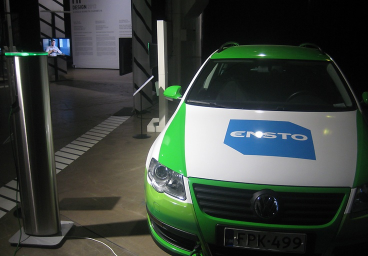 Ensto is showing electric vehicle charging products EVP070.12 and EVC100.  -  Now you can touch our member companies. Hi Design exhibition presents the design work of forerunning Finnish companies. The idea is to offer visitors the opportunity to see and touch products. Hi Design 2012 is at Kaapelitehdas (Cable Factory), Tallberginkatu 1, Helsinki. Entry is free of charge.  -  http://wdchelsinki2012.fi/en/hidesign2012