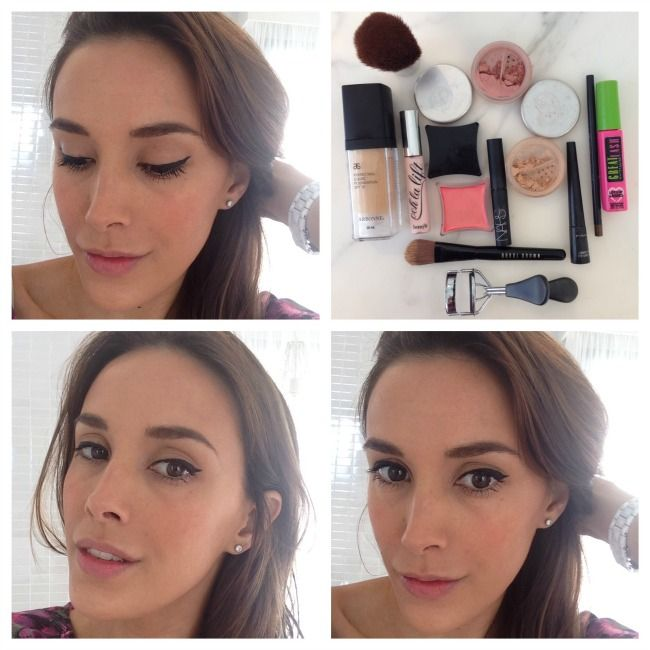 Rebecca Judd 5 minute make up with Arbonne liquid foundation!