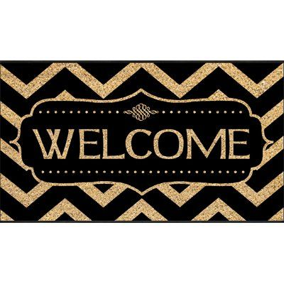 Darby Home Co Bancroft Woods Coir Doormat