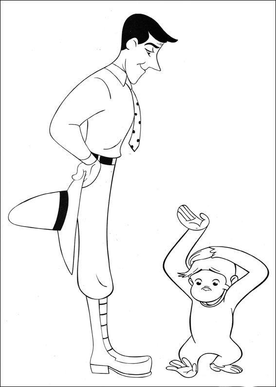 coco der neugierige affe 60 ausmalbilder für kinder