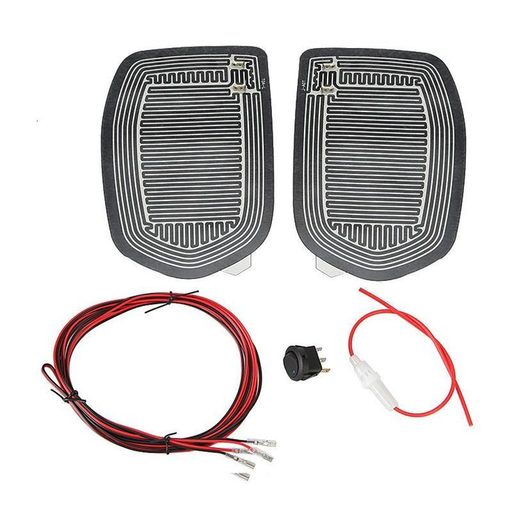 אוניברסלי מהיר חדש חם 12 V רכב צד מירור זכוכית Defogger בחום מחומם דוד Pad Mat עבור כלי רכב מכוניות