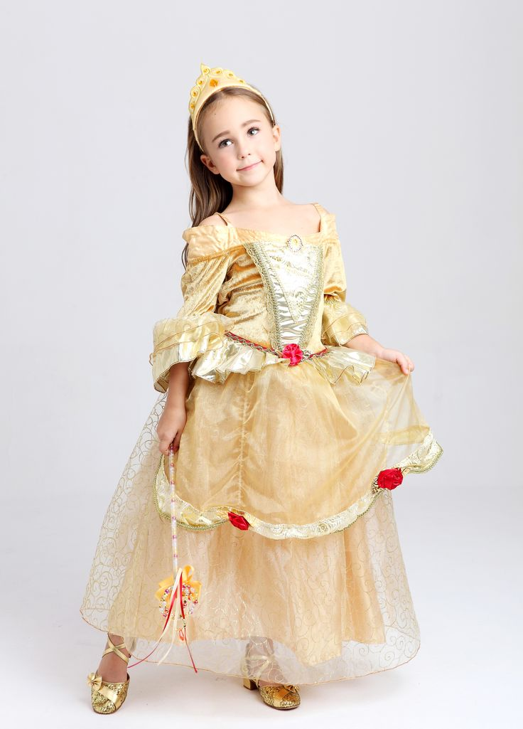 Belle Kostüm in Premium Qualität