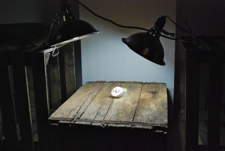 creating a simple studio for night time product shots