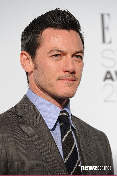 (SUN NEWSPAPER OUT) Luke Evans attends the Elle Style Awards 2015 at Sky Garden @ The Walkie Talkie Tower on February 24, 2015 in London, England.  (Photo by Dave J Hogan/Getty Images)