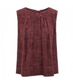 Harvey Nichols - Bow embellished printed silk top