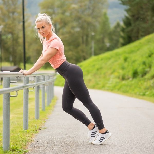 652ad70c Reebok Lux High-Rise Tights (X-life.no) | Sport wear | Black tights ...