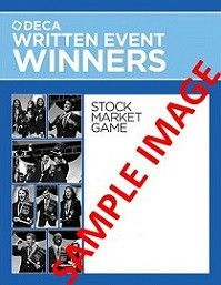 SALE Written Event Winners from DECA Images