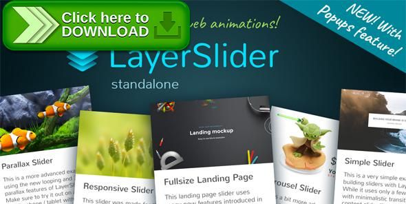 [ThemeForest]Free nulled download LayerSlider Responsive jQuery Slider Plugin from http://zippyfile.download/f.php?id=47675 Tags: ecommerce, animation, creative, effects, gallery, image, jquery, layer slider, modal, parallax, photo, pop-up, popup, showcase, slider, slideshow