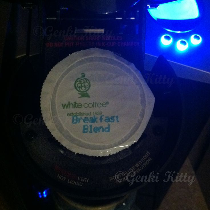 White Coffee Breakfast Blend Coffee Review
