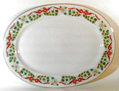 Domestications Twelve Days of Christmas Oval Serving Platter Plate China 14  One $59.95  sc 1 st  Pinterest & 15 best Christmas Dinnerware images on Pinterest | Christmas ...