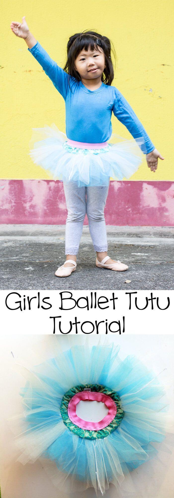 girls ballet tutu tutorial