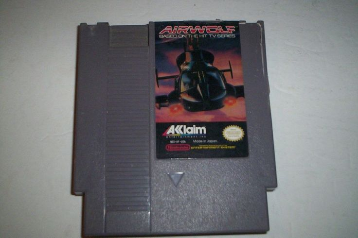 Airwolf Nintendo Entertainment System #Acclaim