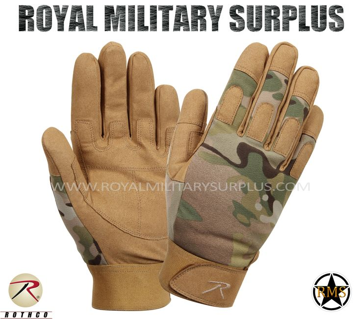 Tactical Gloves - Combat Warrior - MULTICAM (Multi-Environment) - 57,95$ (CAD) | MULTICAM (Multi-Environment Camouflage Pattern USA/NATO Armed Forces Camouflage – 7 Colors Army/Military/Commando/Special Forces Design Made following Military Specifications Nylon, Leather and Spandex Construction Synthetic Leather Palms Reinforced Fingers & Knuckles Moisture Wicking Technology Adjustable Wrist (Hook & Loop) BRAND NEW http://www.royalmilitarysurplus.com/Gloves_c23.htm