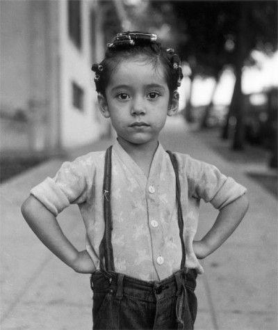 Ida Wyman, Girl with Curlers, 1949