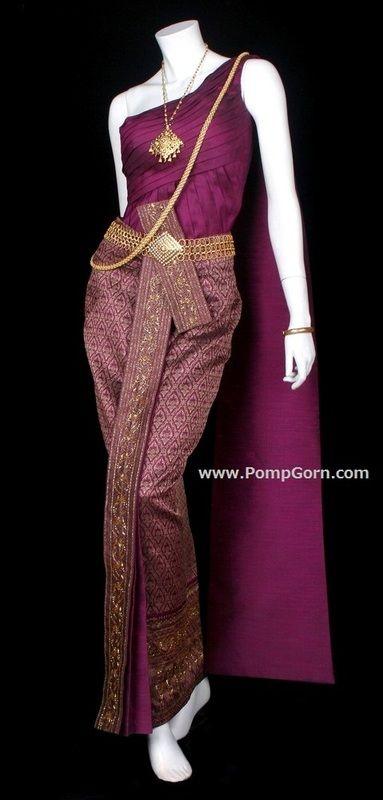 แคตตาล๊อกชุดไทย - ป้อมกร ตัดชุดไทย Tailor Thai Costume I WANT THIS SO BAD