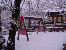 Escapalandia. Lugares para ir con niños: Pedrafita y O Cebreiro, en día de nieve, con niños