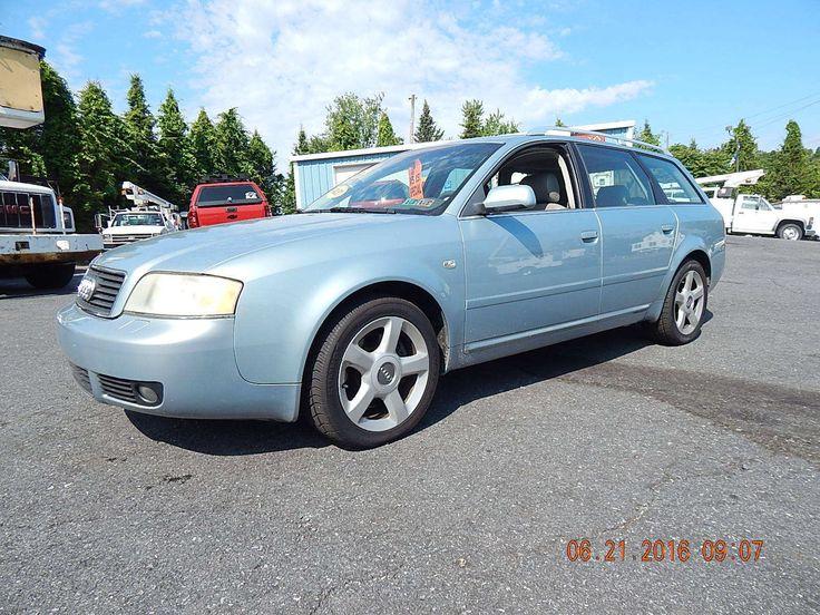 Car brand auctioned:Audi A6 QUATTRO A6 2004 Car model audi a 6 quattro v 6 sport wagon loaded clean sharp no reserve sale